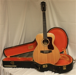 Guild F212XL-NT 12 String Acoustic - Natural (1960s)