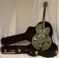 Gretsch G6120 Brian Setzer Hot Rod - Highland Green 2-Tone (2015)