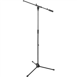 On-Stage Stands Heavy-Duty Euro Boom Mic Stand - Black