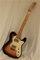 Fender '72 Telecaster Thinline - 2-Tone Sunburst (2009)